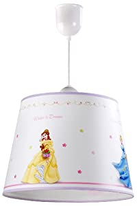 dalber lampe de plafond suspension disney princess b b s pu riculture. Black Bedroom Furniture Sets. Home Design Ideas