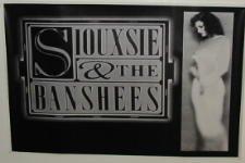 """Siouxsie & The Banshees, 60 x 90 cm, motivo: manifesto/Poster """""""