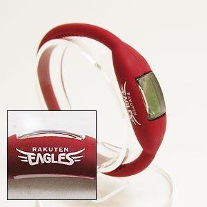 楽天Eagles 公認 シリコン 腕時計 (クリムゾンレッド, Mサイズ)