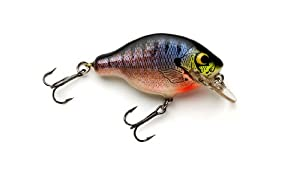 Bagley Small Fry Bluegill Genuine Balsa Wood Fishing Bait