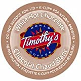 White Chocolate K- Cup Timothy's Hot Chocolate, 22 K Cups