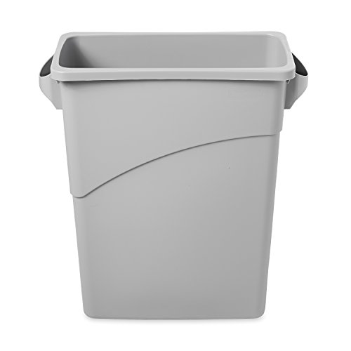 rubbermaid-slim-jim-recycling-container-bin-w279xh640mm-60-litres-grey-ref-3541-00-gry