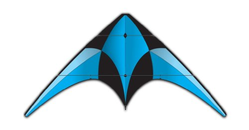 X-Kites XL Sport Blue Kite