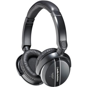 Audio-Technica ATH-ANC27x QuietPoint Active Noise-Cancelling Headphones - Stereo - Black - Sub-mini phone - Wired - 33 Ohm - 20 Hz 20 kHz - Over-the-head - Binaural - Circumaural - 3.94 ft Cable - ATH-ANC27X