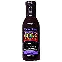 Garlic Sesame Marinade & Glaze (Retail) Net Wt. 13.8 Oz.