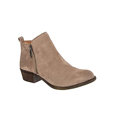 Lucky Brand Basel Bootie Women's Designer Shoes (50 Color Options)