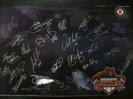 Signed Grizzlies, Fresno (2008) 12x18 By the 2008 Fresno Grizzlies autographed by Powers Collectibles