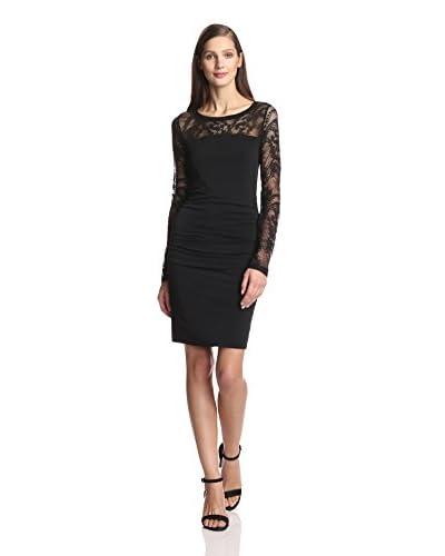 Velvet Women's Jersey & Lace Sleeveless Dress