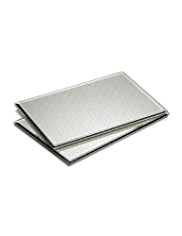 2 Sparkle Glass Mats