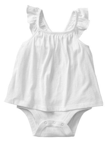 baby GAP (ベビーギャップ)フラッターロンパース ホワイト【月齢:18-24ヶ月】(並行輸入品)(90cm)