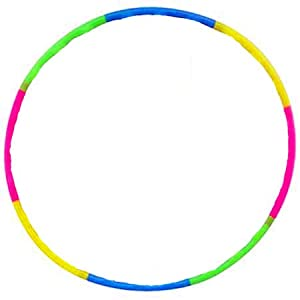 """42"""" Detachable Hula Hoop for Sports & Playing"""