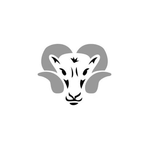 Amazon.com : Tattoo Stencil - Ram's Head - #L24 : Tattooing Products