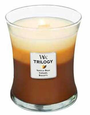 Best Cheap Deal for Woodwick Candle Café Sweets Trilogy Medium Jar from Woodwick - Free 2 Day Shipping Available