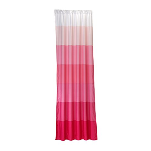Little Bedding Ombre Window Panel, Pink