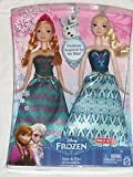 Disney Frozen Anna & Elsa Fashion Doll 2-Pack Limited Distribution Amazon