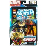 Marvel Universe Thanos and Adam Warlock Figure Comic Pack 4 Inches (Marvel Universe Adam Warlock compare prices)