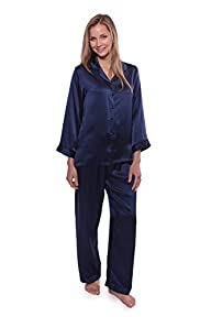 Women's Luxury Silk Pajama Set – Morn…