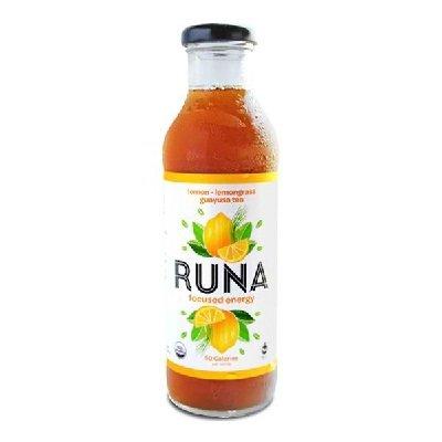 Runa Organic Lemon And Lemongrass Guayusa Tea, 14 Fluid Ounce -- 12 Per Case.