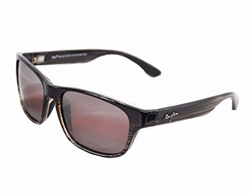 maui-jim-r721-01-stg-bg-schokobraun-gestreift-mixed-plate-wayfarer-sunglasses-polarised-lens-categor