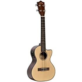 Lanikai S-TEQ Spruce Series Tenor Acoustic Electric Ukulele