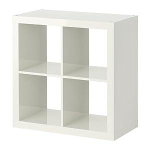 ikea expedit tag re blanc brillant 79x79 cm cuisine maison. Black Bedroom Furniture Sets. Home Design Ideas