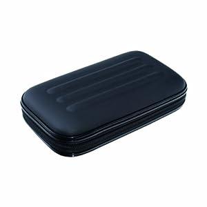 Advantus Large Soft-Sided Pencil Case, Fabric with Zipper Closure, Black (67000)