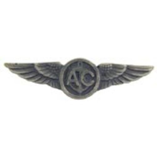 U.S. Navy Aircrew Pin Pewter 1 1/2