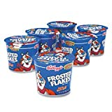 Kelloggs Frosted Flakes Breakfast Cereal, 2.1 oz. Single-Serve Cup, 6 Cups/Box