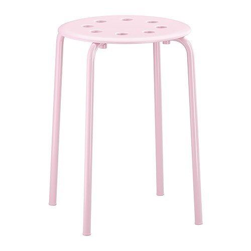 STACK Stacking Stool / Seat - Pink / Pink Set Of 2 Stools