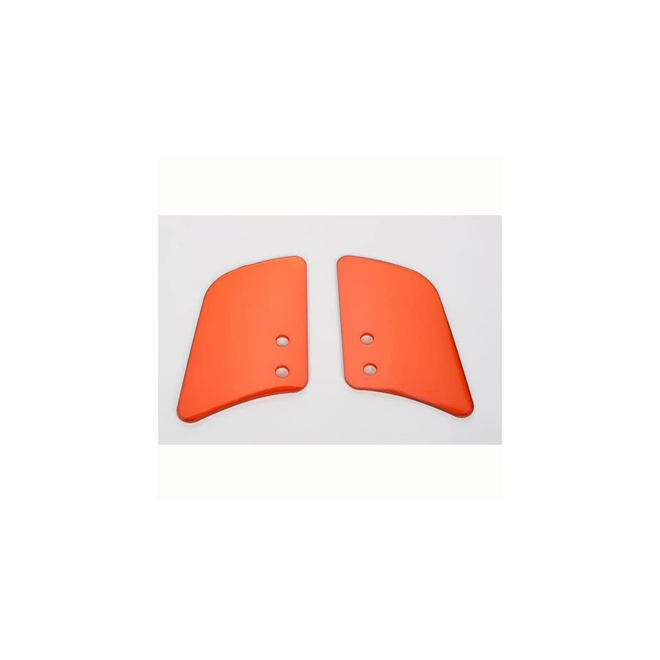 Memphis Shades Custom Lowers Plastic Without Mounts Gradient Orange Without Mounts