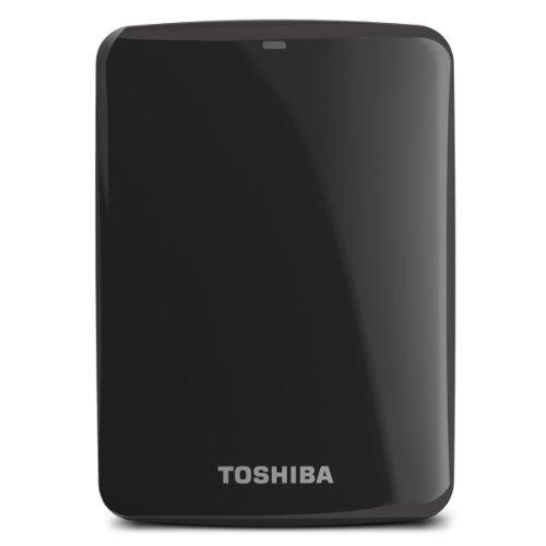 Toshiba Canvio Connect 2Tb Portable Hard Drive, Black (Hdtc720Xk3C1) front-554846