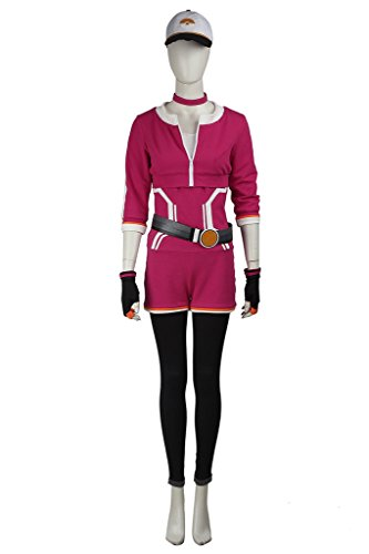 Cosplayfun Pokemon Go Trainer Team Valor Instinct Mystic Cosplay Halloween Costume Women Red