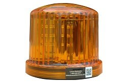 Amber Led 360 Degree Beacon - 20 Leds - Battery Powered - Magnetic Base