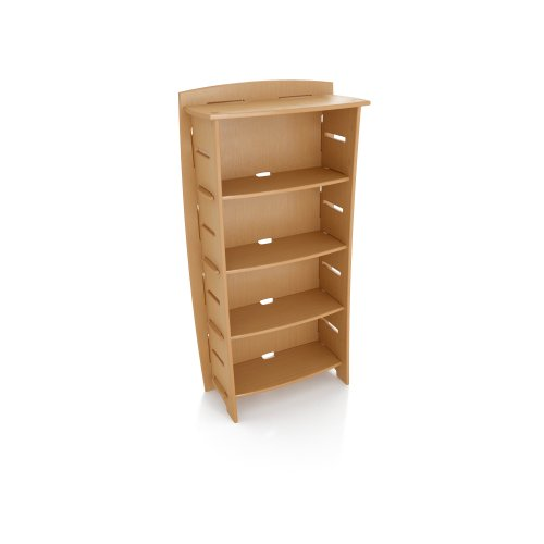 Legare 59-Inch-by-31-Inch Bookcase, Wheat