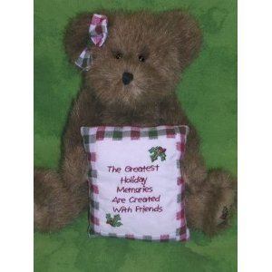 "Boyds Bears ""Beary Goodfriend"" Plush 8"" Bear - 1"