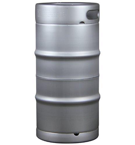 Kegco Slim 7.75 Gallon Commercial Beer Keg - Threaded D System Sankey Valve