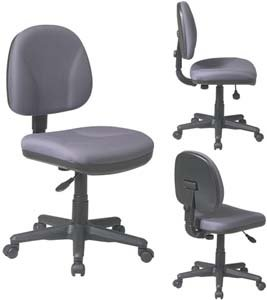 Sculptured Low Back Task Chair Without Arms Fabric Trinket Ony