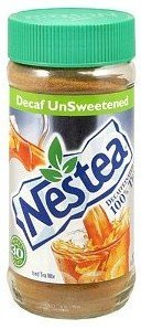 Nestea Instant Decaf Unsweetened Tea, 3-Ounce Unit (Pack of 2)