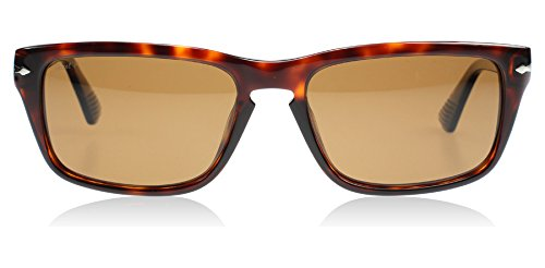Persol 3074 24/57 Tortoise 3074S Detective Rectangle Sunglasses Polarised Lens