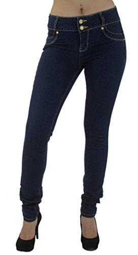 style-m947-colombian-design-mid-waist-butt-lift-skinny-jeans-in-dark-blue-size-9