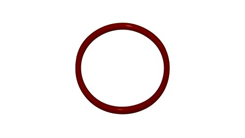Sur-Seal ORSIL326 Number 326 Standard Silicone O-Ring has Excellent Resistance to Oxygen, Ozone and Sunlight, Vinyl Methyl Silicone, 70 Durometer Hardness, 1-5/8