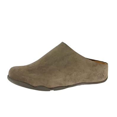 FitFlop-Slippers Mens Shuv-UK: 7-Chocolate Brown Nubuck