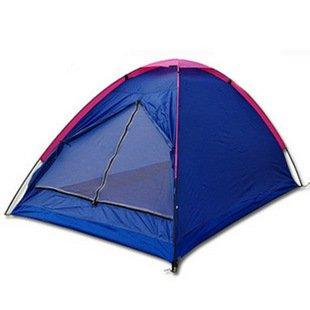 Modovo 2-Person Foldable Camping Tent Waterproof 6.5'X 4.75'X 3.6' (Random Color)