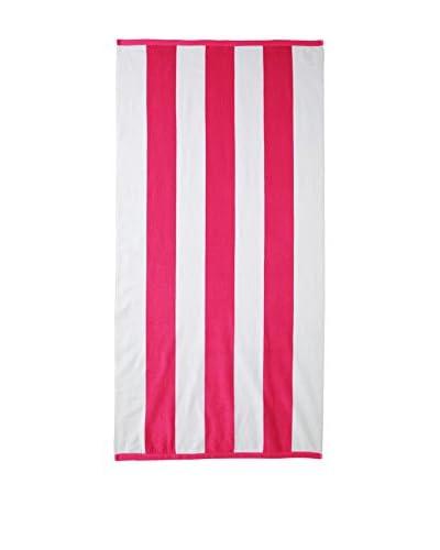 Espalma Tropical Velour Towel, Fuchsia