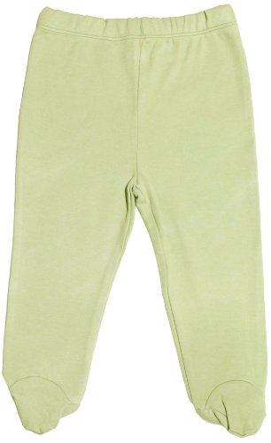 Organic Cotton Baby Pants Footed GOTS Certified