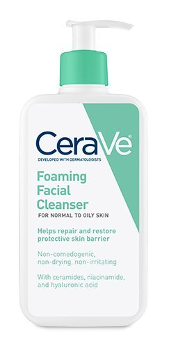 Cerave Foaming Facial Cleanser (Pack of 3) - 12oz