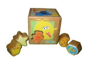 Sesame Street Sort 'N Shape Friends Cube - 1