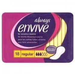 Always Envive Pantyliners Regular x 18 [Personal Care]