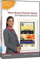 Mavis Beacon Teaches Typing 21 Platinum - 6 Licenses