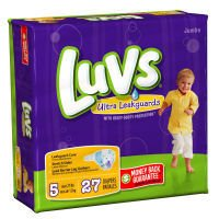 Luvs Ultra Leakguards Stage 5 Jumbo Diapers 27 ct